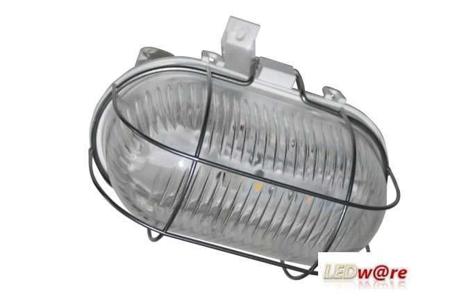 LED Bulleye | Helder | 230 Volt | 3  Watt | VV 12 Watt TL | IP 54 | Portiek | Warm Wit