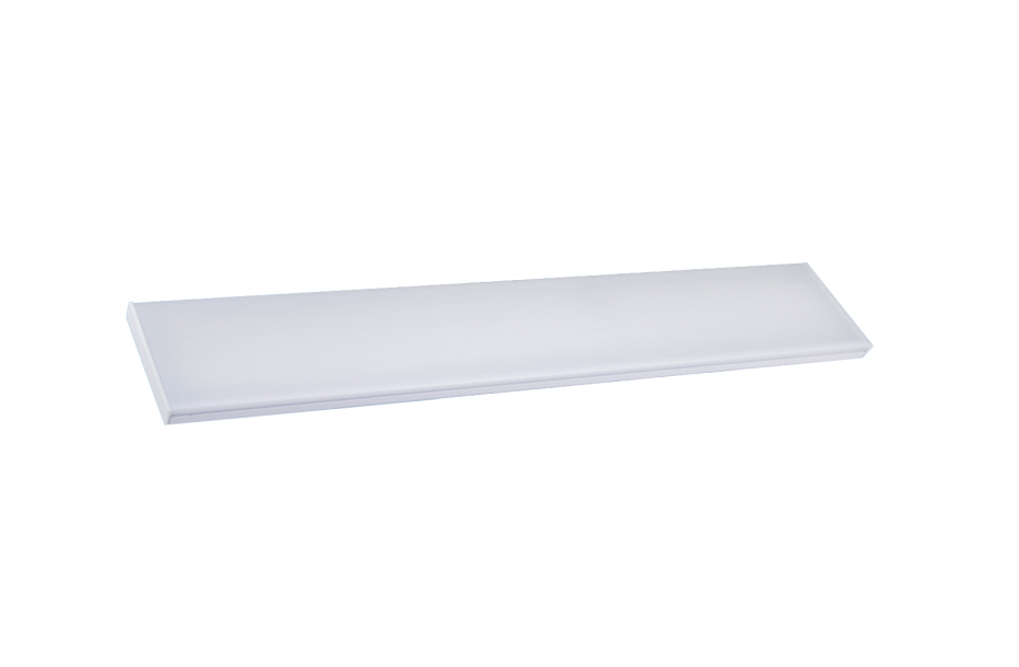 LED TL Opbouw Armatuur | 230 Volt | 25 Watt | 2500Lm | Warm Wit | 600x120x45mm | VV 2 x 18
