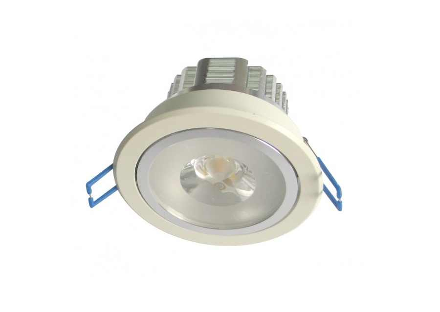 LEDware | LED inbouwspot | 1 LED | Rond | 18 Watt | 900 Lm | Doe Het Zelf LED Kit | Warm W