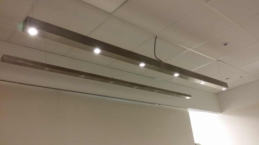 Rvs balk led verlichting en energie zuinige verlichting for Plafondverlichting