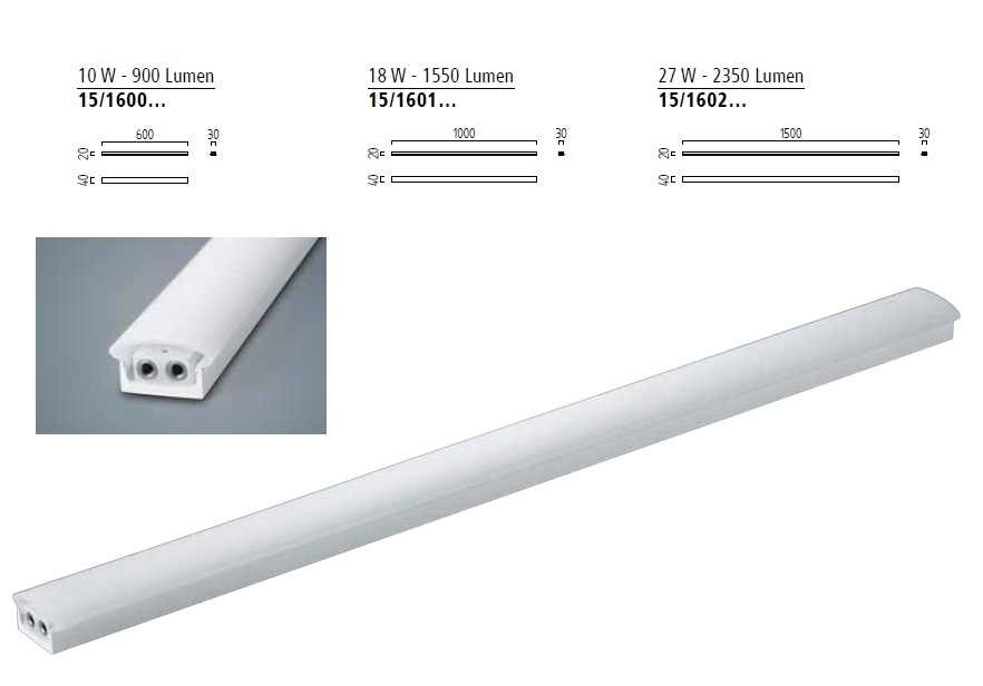 LED Strip | Plat | Type VIGO | 100 Cm | Warm Wit | 18 Watt | 24 Volt