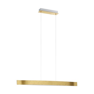 Eglo | LED Hanglamp | 1 x 24 Watt | FORNES | goud, wit  | 970mm