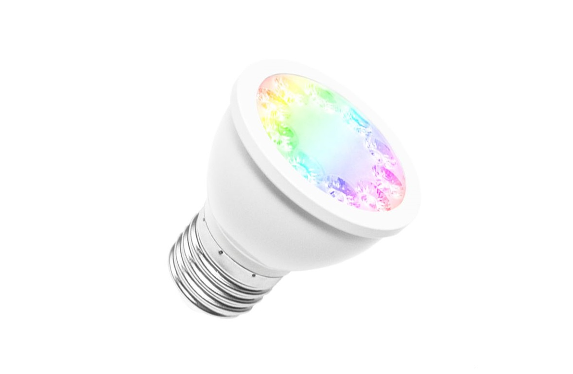 LEDware Zigbeew@re | LED E27 PAR16 | RGB + CCT | 5 Watt
