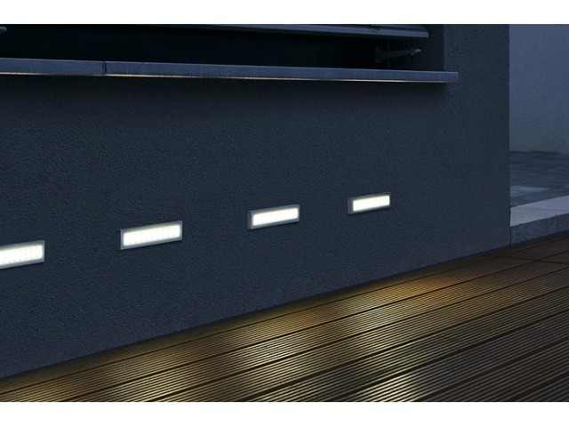 Wand inbouw lagotronics aites 20 led opbouwlamp alu for Led lampen dimmen