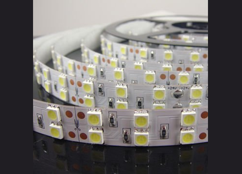 High Output LED strip | IP65 | 24 Volt | 28 Watt | 120 LEDs | 1 Meter | Koud Wit | 6000K