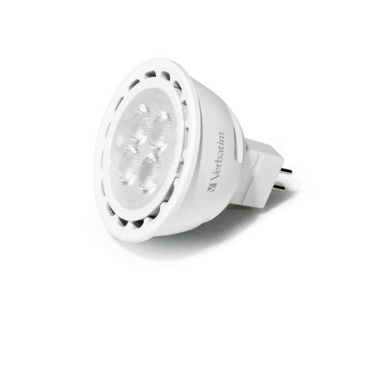 LED Spot (Verbatim) | 12 Volt | 5,5 Watt | VV 40 Watt | Warm Wit | MR16