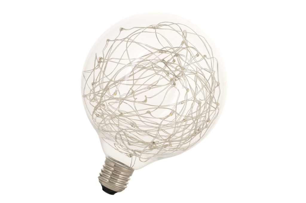 Bailey LED Globe | 230 Volt | wireled Très chic Globe E27 1.5W 2500K Clear