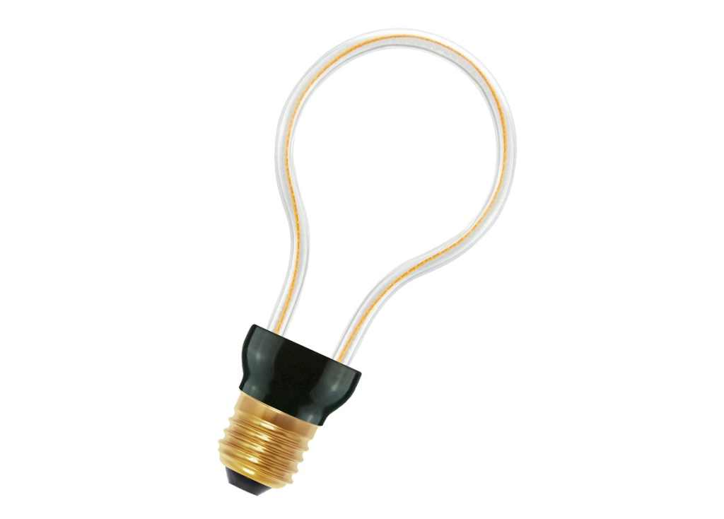 Bailey LED lamp | 230 Volt | Spiraled Silhouette Bulb E27 8W 2200K Dimm