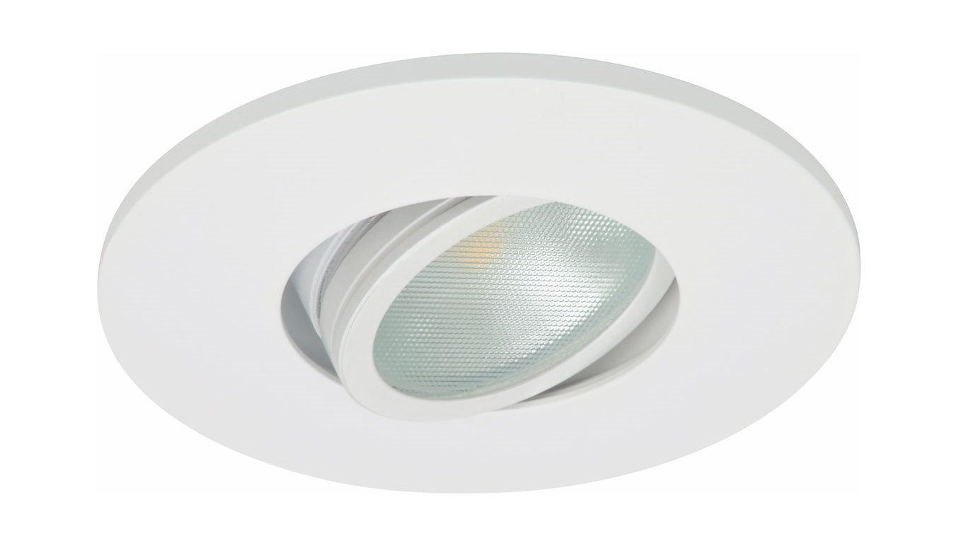 Malmbergs | LED inbouwspot | 1 x Spot | Rond | 6 W | Warm Wit (2700k) | Wit | MD-350