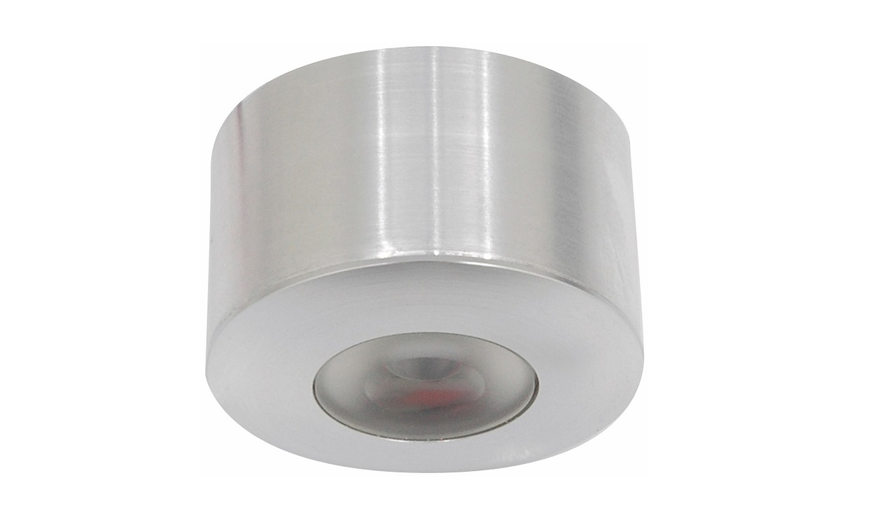 Malmbergs | LED inbouwspot | 1 LEDs | Rond | 1,2 W | Warm Wit (2700k) | Wit | MD-45 | CH