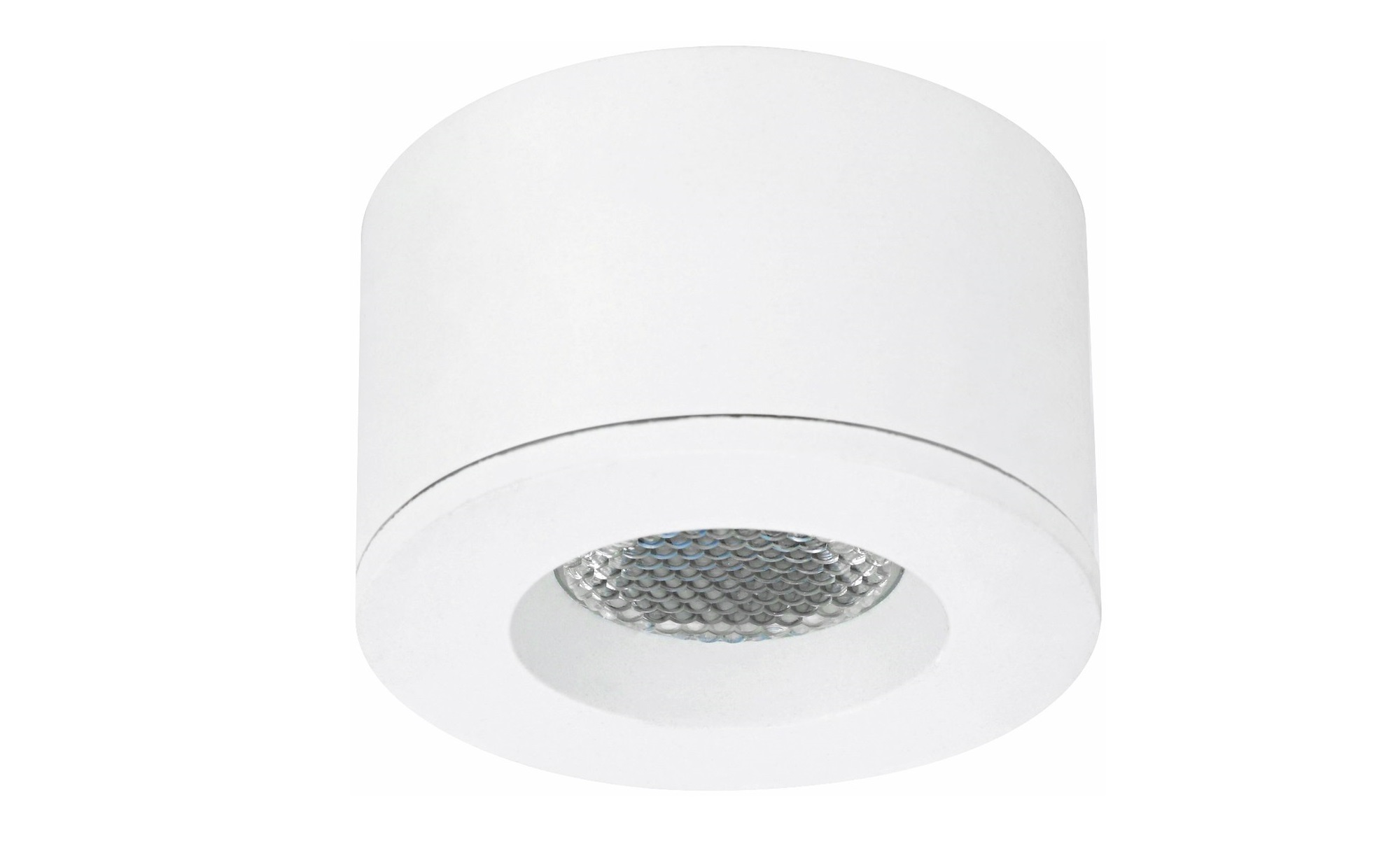 Malmbergs | MD-29 | LED inbouwspot | 1 LEDs | Rond | 1,2 W | Warm Wit (2700k) | Wit