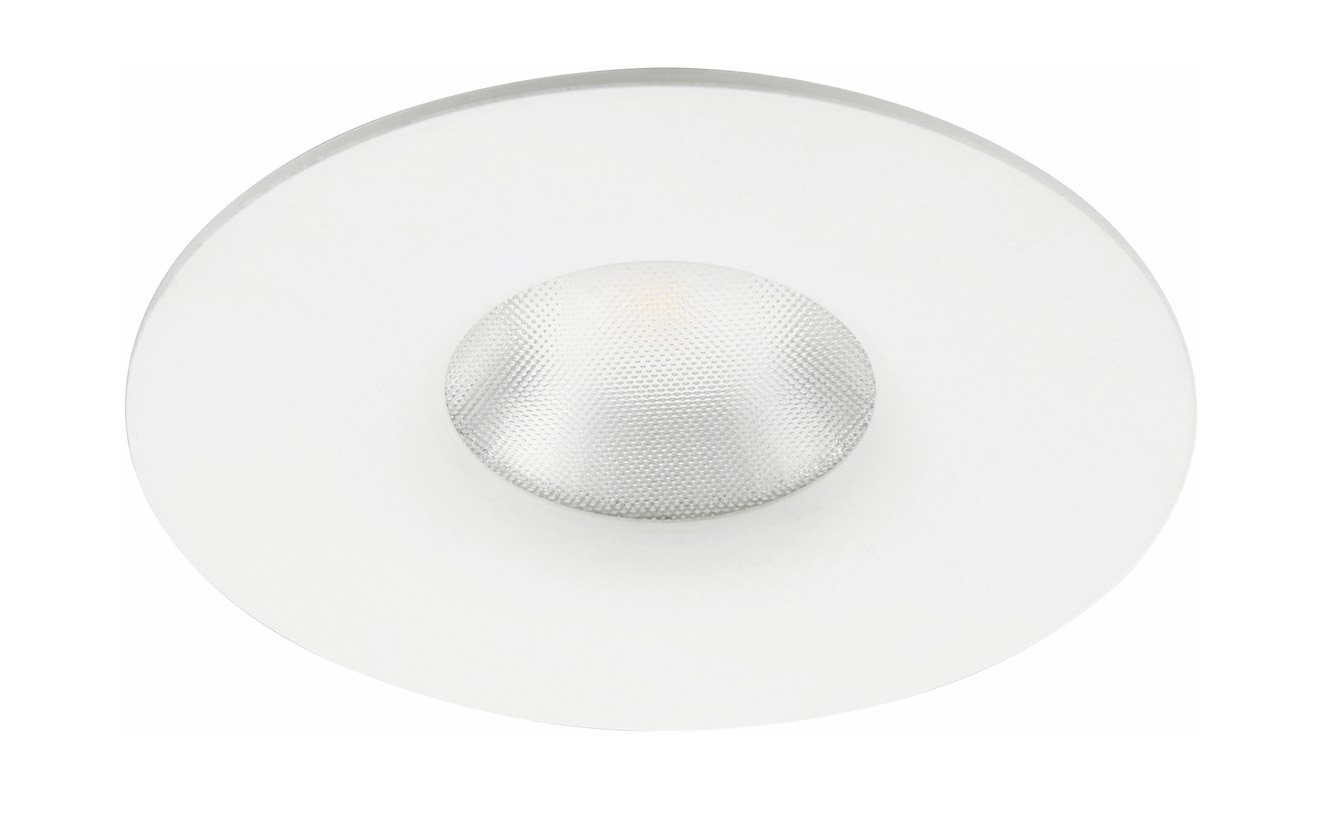 Malmbergs | LED inbouwspot | 1 LEDs | Rond | 4,6 W | Warm Wit (2700k) | Wit | MD-77