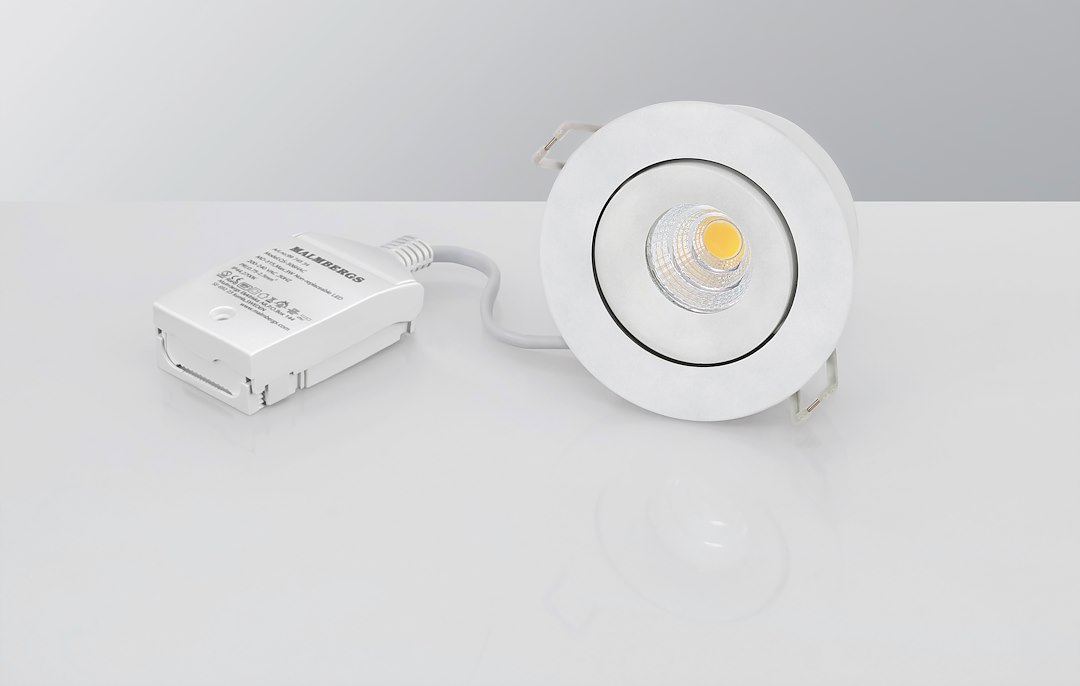 Malmbergs | LED inbouwspot | 1 LEDs | Rond | 6 W | Warm Wit (2700k) | Wit | MD-70
