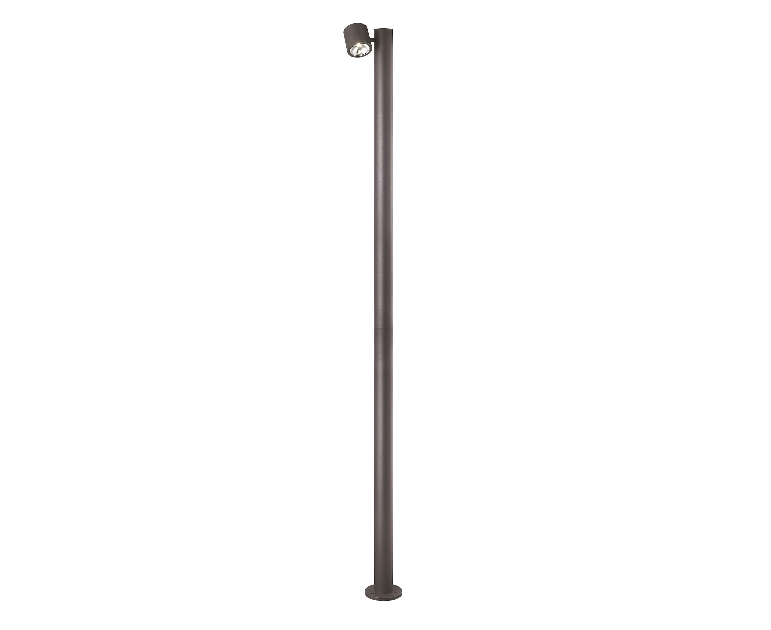 Malmbergs | LED Lamp | LAMP POST SPIRIT POLE I, 1X11W, IP54 | 220CM