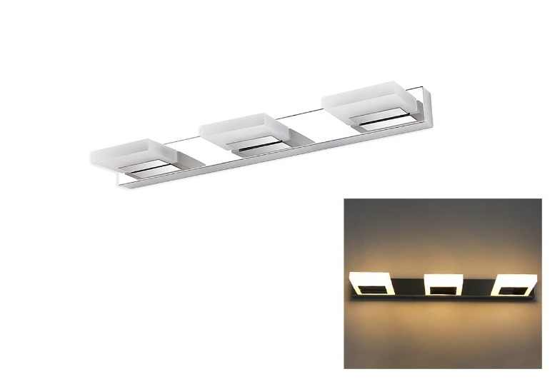 LEDw@re | LED Spiegel / Kastverlichting set | 1 Lampje | 12 Watt | Chroom | MACCM5870.12W