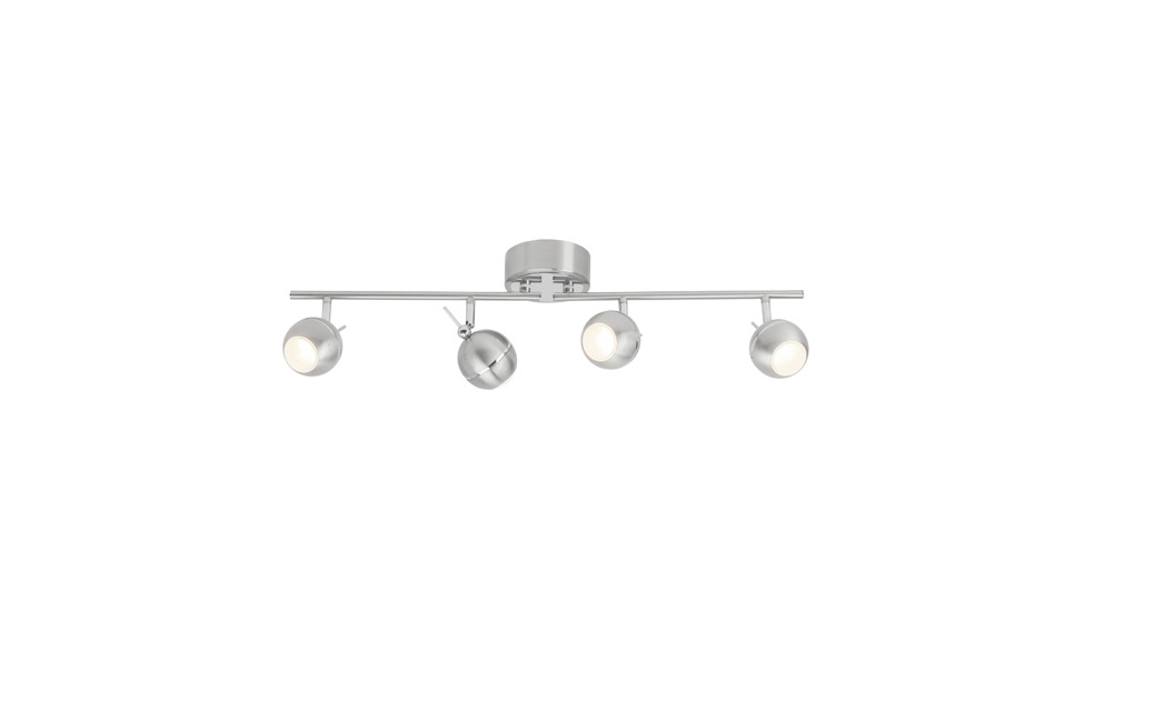 Brilliant Spot / wandlamp | 4 x 5 Watt | 170 x 680 mm | CELEST 4 | Chroom