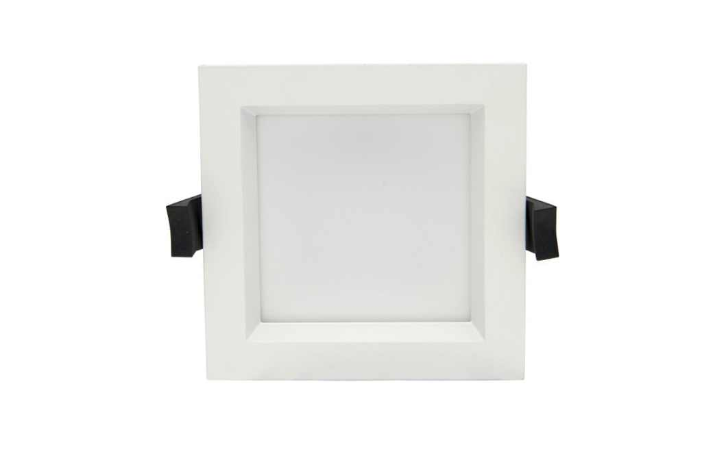 BudgetLine | LED Downlight Quare | 220 Volt | 12 Watt | 750 Lumen | Warm Wit | 155 x 155 m
