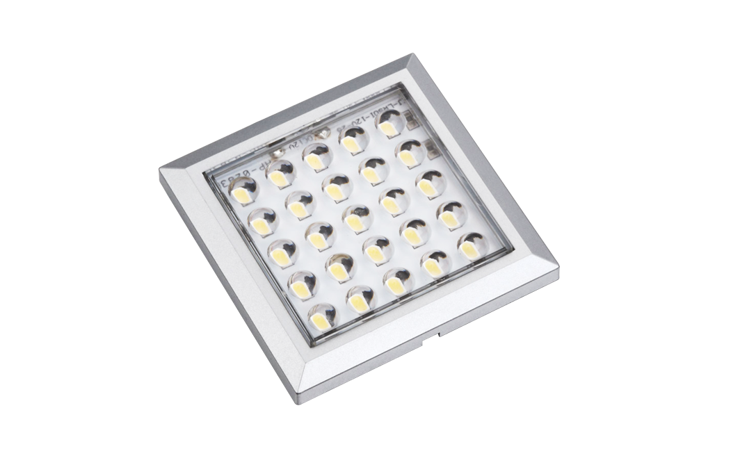 LED verlichting set | 3 Lampjes | 3 x 2,5 Watt | Vierkant
