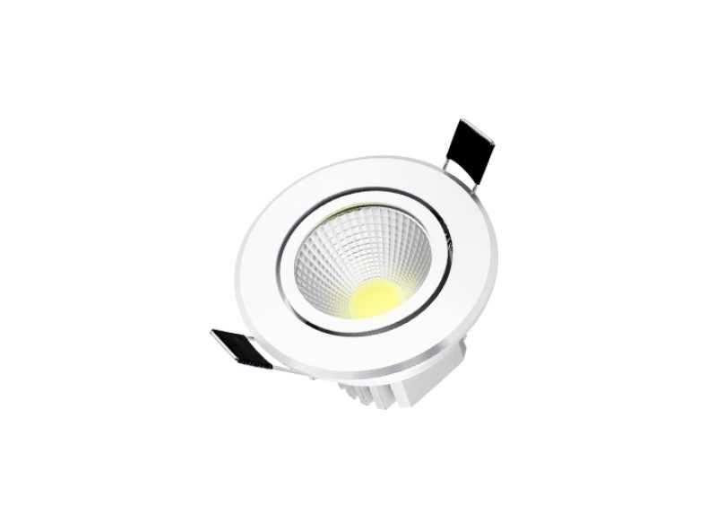 BudgetLine | LED inbouwspot | 1 LED spots | 414 Lm | Doe Het Zelf LED Kit | Warm Wit | Ron