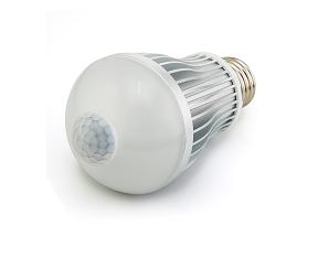 Led lamp met een e27 fitting led verlichting en energie for Bewegingssensor voor led verlichting