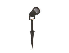 LED Tuinlamp | Spike | 12 Volt | Rond | 1 x 3 Watt | Warm Wit | SPOT III