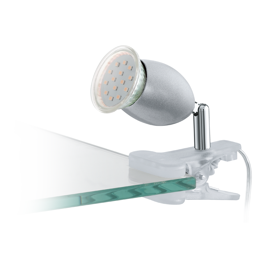 Eglo | LED clipspot | Zilver