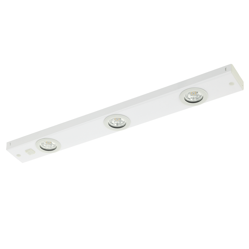 EGLO | LED Armatuur | KOB  | 3 x 2,3 Watt | Warm Wit | 600 mm | Wit