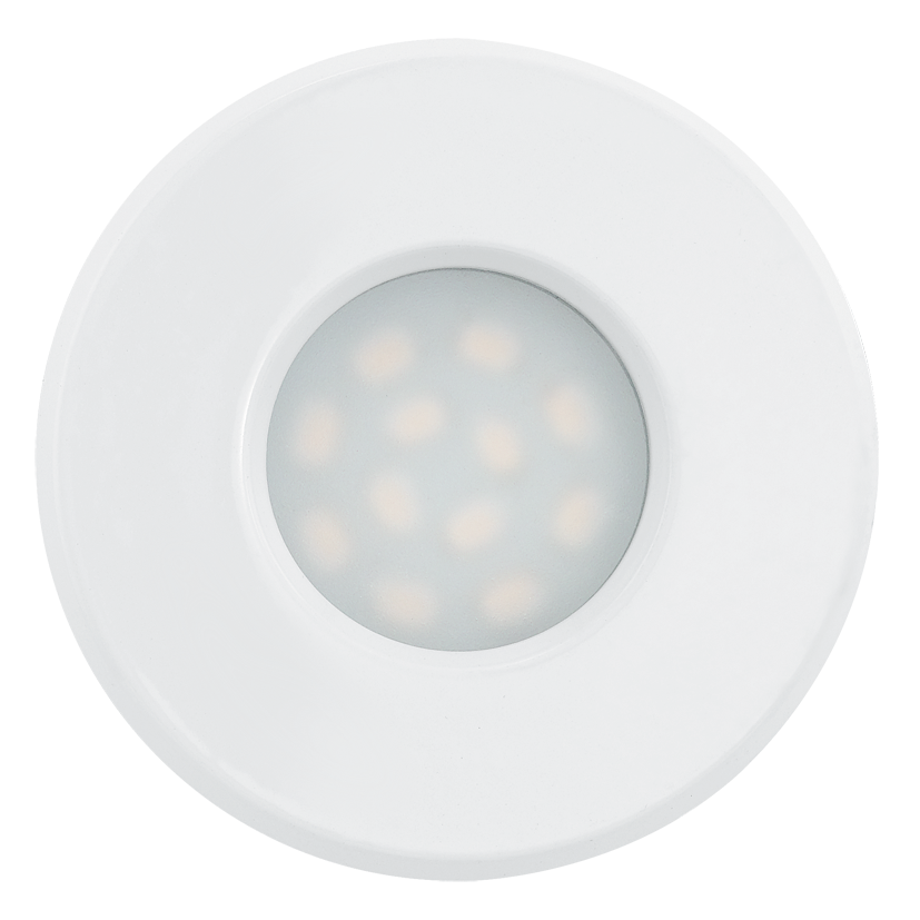 Eglo | LED inbouwspot | 1 LED Spot | 5 Watt | Warm Wit | Wit | 400 Lumen