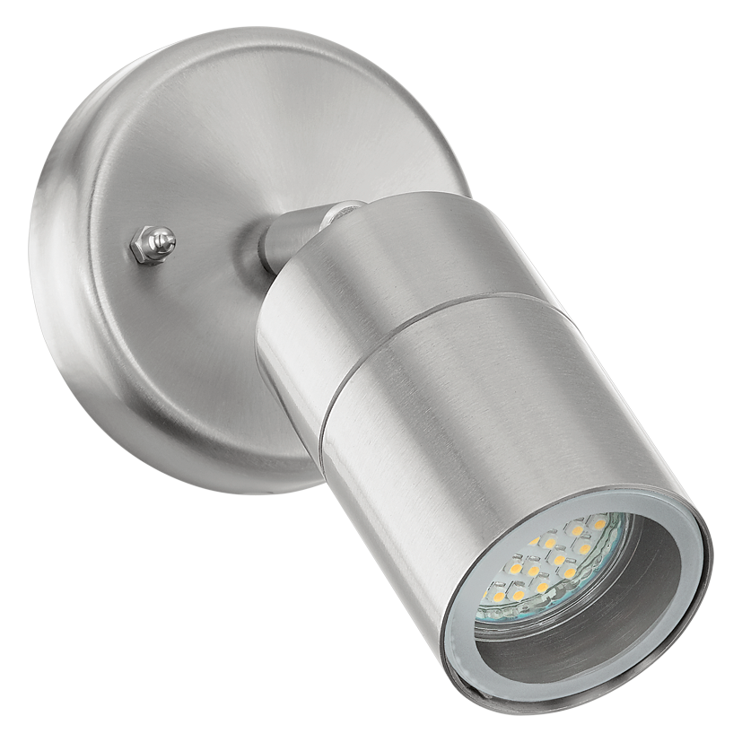 Buitenlamp | Aluminium Spot lamp | Grijs | 65 mm | Warm Wit