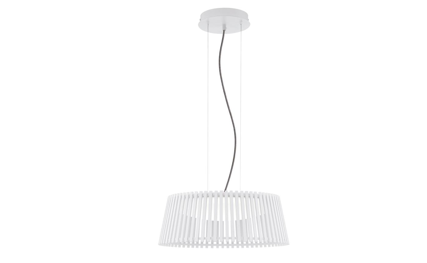 Eglo | Houten LED Hanglamp | 18 Watt | ROVERATO | Wit | Ø: 470 mm