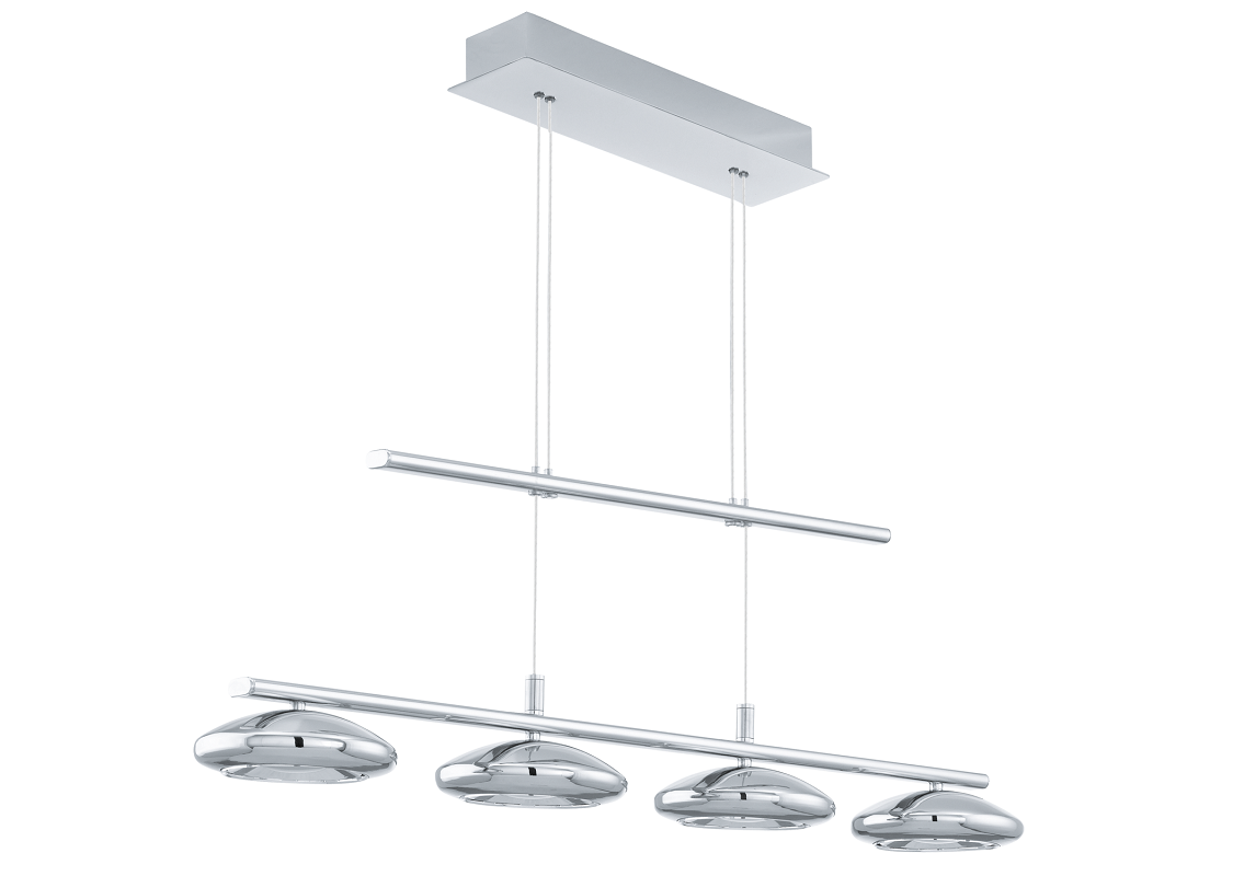 Eglo | Chrome LED Hanglamp | 4 x 4,5 Watt | TARUGO