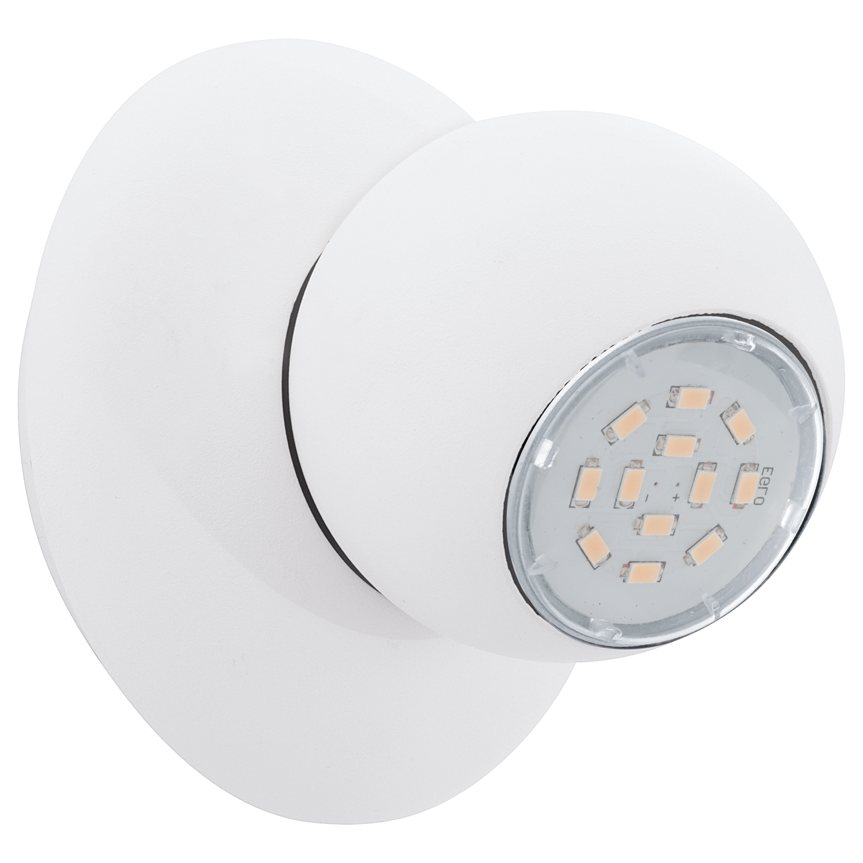 Sort2a page1 eglo led verlichting en energie zuinige eglo spot wandlamp 1 x 5 watt 100 mm led norbello parisarafo Images