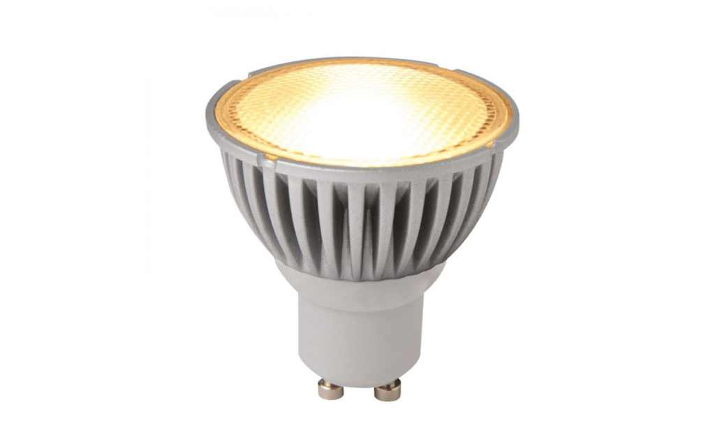LED Spot (Megaman) | 230 Volt | 5,8 Watt | VV 50 Watt | Dim to Warm Wit | GU10 | Alu