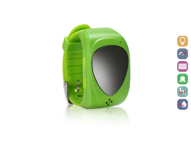 Kids Smartwatch | GPS Tracking | GWJM09GREEN | Groen