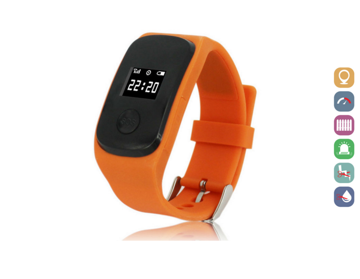 Kids Smartwatch | GPS Tracking | GWSS22ORANGE | Oranje