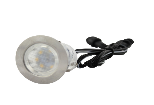 LEDw@re | LED Grondspot | 12 Volt | Rond | 6 x 1 Watt | Warm Wit | macSCB109AWW