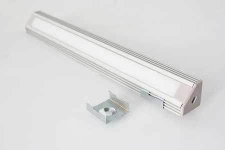 LED Profiel ALU 45 graden LED Verlichting en energie zuinige ...