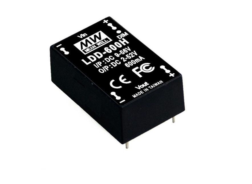 LED driver | 9-52 Volt | 350mA | 15 Watt