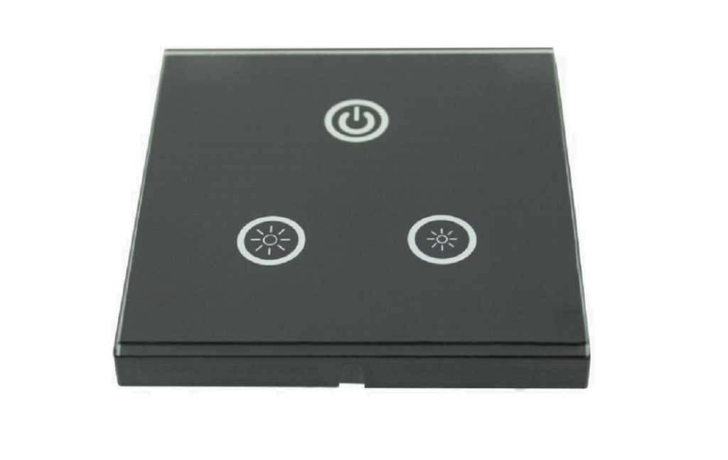LED Dimmer |  DIMw@re Controller | 1 x 4 Ampere | 12-24 Volt | Wallpanel 05