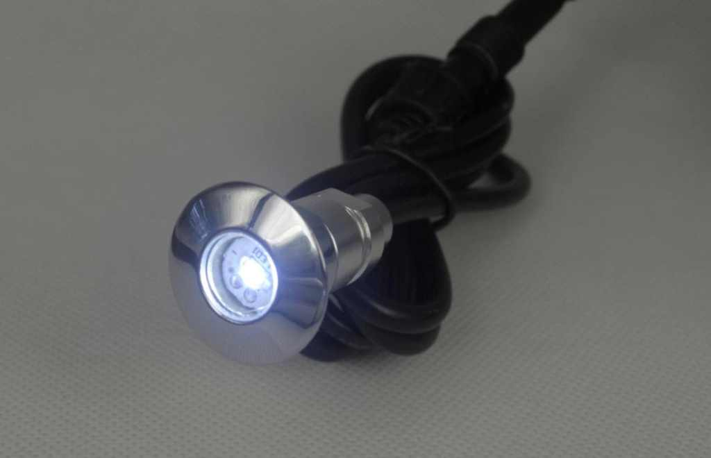 LEDw@re | Lamp IP67 | Koud Wit | Rond | 0,24 Watt | 18 mm