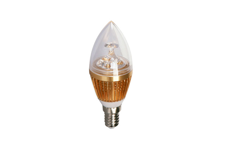 BudgetLine | LED kaars | 230 Volt | 3 Watt | 290 Lumen | VV 15 Watt | Warm Wit | E14
