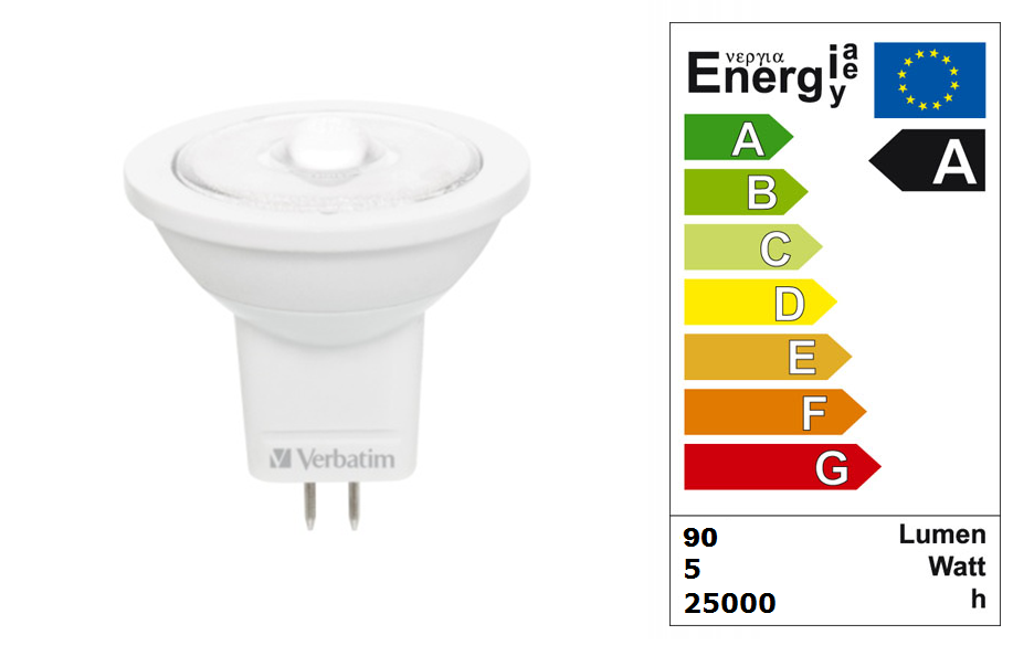 LED steeklampje | 12 Volt | 1 LED | 2 W | VV 15 W | Warm Wit | GU4 | MR11 | 38 graden