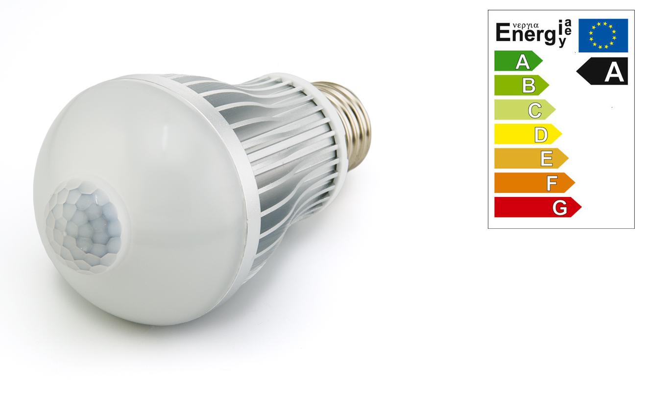 E27 Bewegings LED Verlichting en energie zuinige verlichting van ...