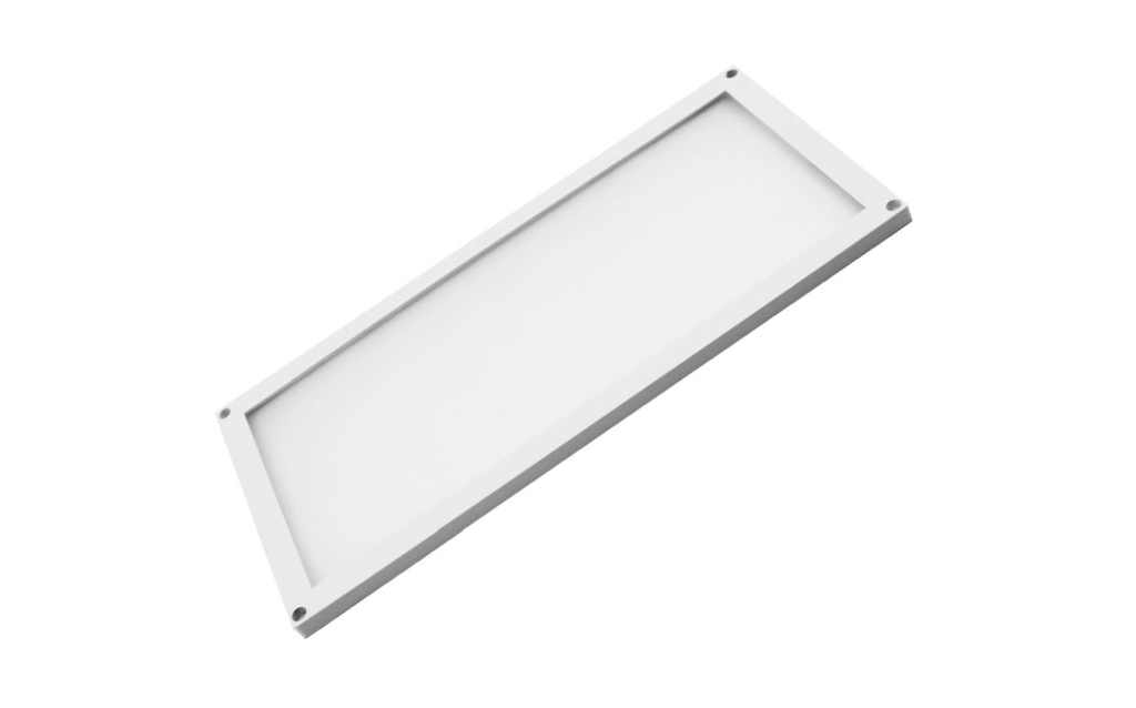 LED Module | Type THIN | 200 x 100 x 5 mm | Warm Wit 2700k | 6 Watt | 12 Volt | 360 Lumen