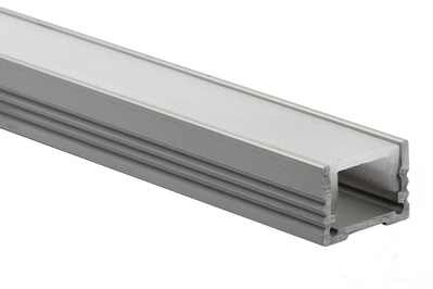 LED Neon Flex Pro & Flat | 24V | Aluminium channel | 1meter 14x22mm