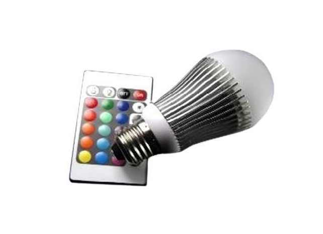 LED Lamp | 230 Volt | 6 Watt | RGB | E27