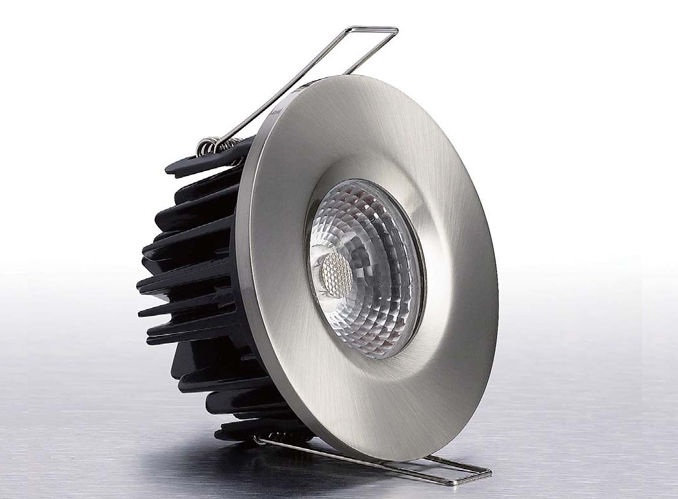 LEDware | LED inbouwspot | 1 LEDs | Rond | 8 W | Warm Wit | RVS | IP65