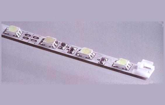 LED strip vast | 12 Volt | 4,8 Watt | 30 LEDs | 0,5 Meter | Blauw