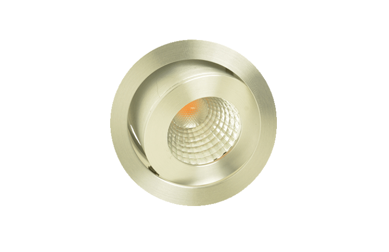 Klemko | LED inbouwspot | 1 LED | Rond | 3,3 W | 350 mA | Warm Wit | LCB-IBM-3,3WW