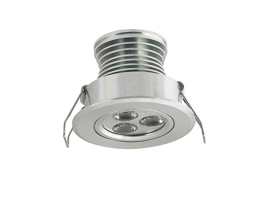 LEDware | LED inbouwspot | 1 LED | Rond | 3 W | 350mA | Warm Wit | LWD1W3302AWW350 | Chroo